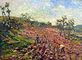 Robert Antoine Pinchon, 1903, Working in the field (Arbeit auf dem Felde), oil on canvas, 49 x 61 cm.jpg