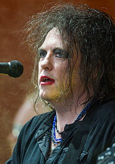Robert Smith - The Cure - Roskilde Festival 2012 - Orange Stage (cropped).jpg