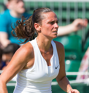 2015 WTA Elite Trophy - Roberta Vinci reached first Grand Slam final.