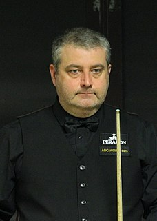 Rod Lawler English snooker player
