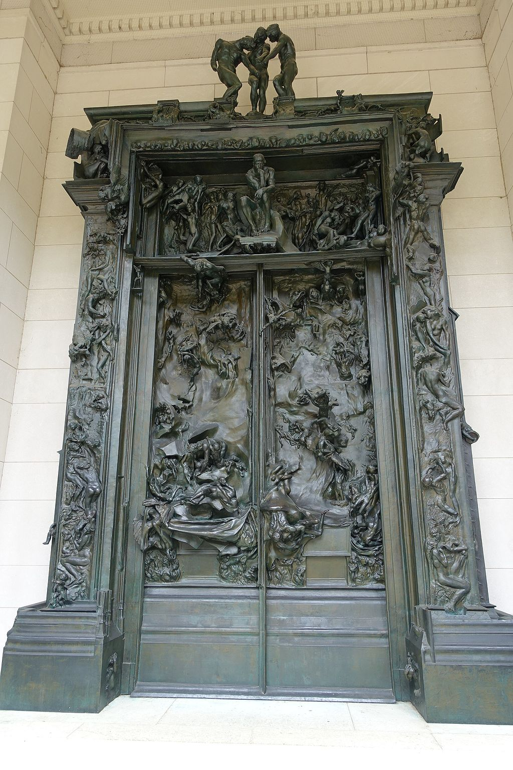 """""""The Gates of Hell"""" by Auguste Rodin"""