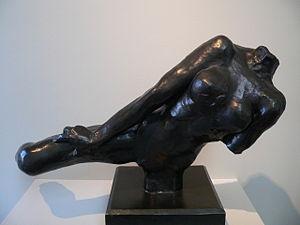 Rodin flying figure p1070126