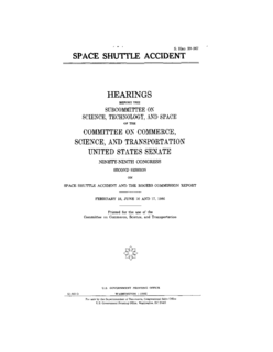 Rogers Commission Report Official report from the investigation into the Space Shuttle Challenger Disaster.