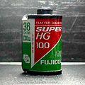 Rollo de pelicula fotografica de 35 mm (Fuji film) 2006 009.JPG