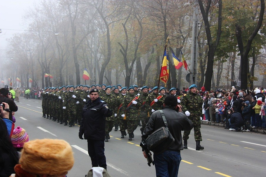 Romanian soldiers