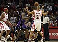 Ron Artest Shane Battier Sacramento Kings at Houston Rockets 2008-02-13.jpg