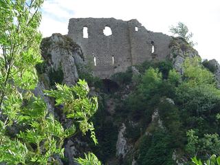 Château de Roquefixade castle