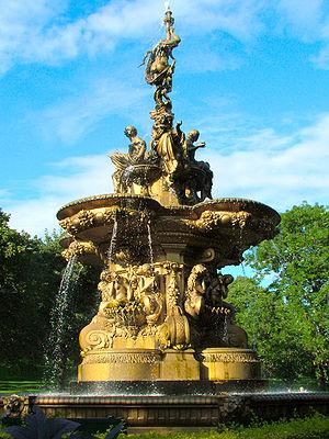 The Ross Fountain in Edinburgh