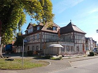 Rottleberode Ortsteil of Südharz in Saxony-Anhalt, Germany