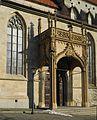 Rottweil-Heilig Kreuz Kirche ab 12. Jh. Eingangsportal.jpg