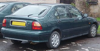 Rover 400 / 45 - Rover 400 hatchback (rear)