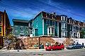 Row housing St John Harbour Newfoundland (40650815184).jpg