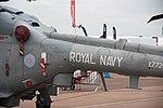 Royal Navy Westland Lynx XZ729 at RIAT 2013 (9582717255).jpg