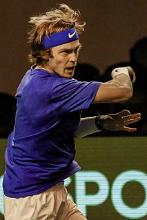 Andrey Rublev Russian tennis player