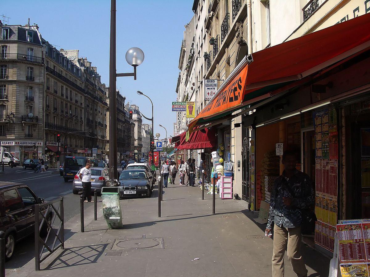 Rue Saint Louis