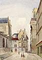 Rue des Prêtres-Saint-Germain-l'Auxerrois (Paris) 1849.jpg