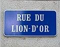 Rue du Lion-d'Or à Lausanne, plaque de rue.jpg