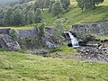 Ruined dam on Corriemulzie Burn.jpg