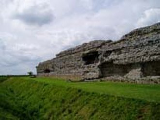 History of Kent - Ruins Richborough Fort
