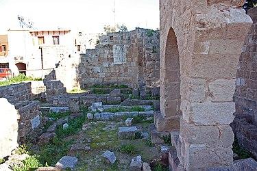 Ruins in Medieval Rhodes 2010 4.jpg