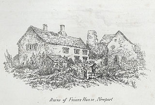 Ruins of Friars House, Newport