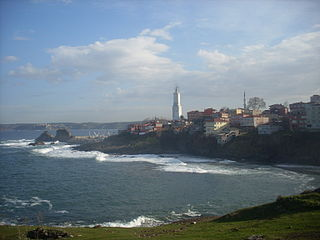 lighthouse in Istanbul, Turkey