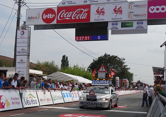 Rumillies (Tournai) - Tour de Wallonie, étape 1, 26 juillet 2014, arrivée (A31).JPG