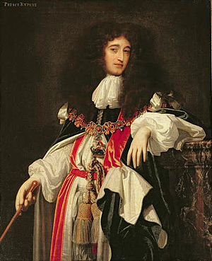 Simon Pietersz Verelst - Prince Rupert of the Rhine