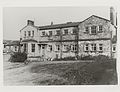 Ruthin Workhouse. West side of entrance; c. 1965. Wales.jpg