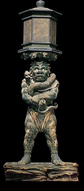 Tentōki and Ryūtōki - Tentōki and Ryūtōki by Kōben, National Treasure of Japan, c. 1215–16