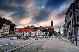 Bykerne i Białystok.