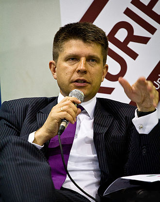 Polish parliamentary election, 2015 - Image: Ryszard Petru 2011