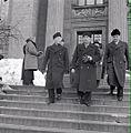 Ryti, Linkomies, Rangell på väg från rättegång.jpg