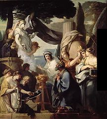 Solomon Sacrificing to the Idols