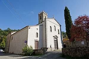Cavriglia - Church of Santa Maria in Cavriglia