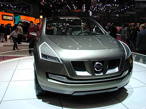 Nissan Qashqai - The Nissan Qashqai Concept at the 2004 Geneva Motor Show.