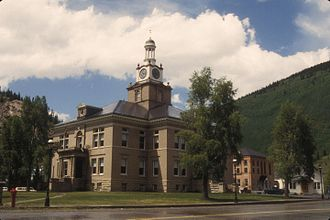 San Juan County, Colorado - Image: SAN JUAN COUNTY COURTHOUSE, SILVERTON, COLORADO