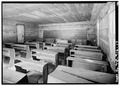 SCHOOL-CHURCH INTERIOR - Little Greenbrier School and Church House, Wear Valley, Sevier County, TN HABS TENN,78-ELK.V,1-17.tif