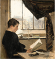 SELF-PORTRAIT READING IN THE STUDIO, ALSO KNOWN AS THE STUDENT.png