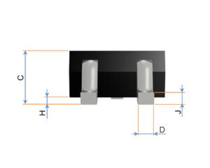 Small-outline transistor - Image: SOT 23,346,323,416 OKÓTOVANý BOKORYS K NAHRáTí