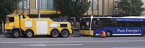 Tow truck - Tow truck for buses