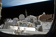 STS-133 Bowen & Drew Spacewalk