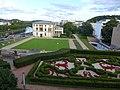 Saarbrücker Schlossgarten mit Blick auf den Landtag des SaarlandesL1000959.JPG
