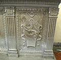 Sagrestia di santa felicita, altare del 1889, 02 stemma del turco.JPG
