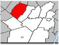 Saint-Rémi Quebec location diagram.PNG