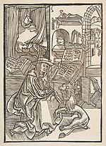 Saint Jerome Extracting a Thorn from the Lion's Foot, Lyons 1508 (copy) MET DP816415.jpg