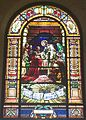 Saint Joseph Cathedral (San Diego, California) - stained glass, The Last Supper.jpg