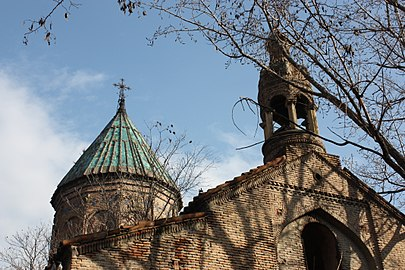 Saint Nshan Armenian church, Old Tbilisi (Dome & Belfry).jpg