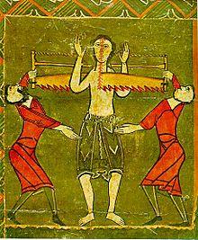 Den hellige Cyriacus' martyrium, Barcelona, 1100-t
