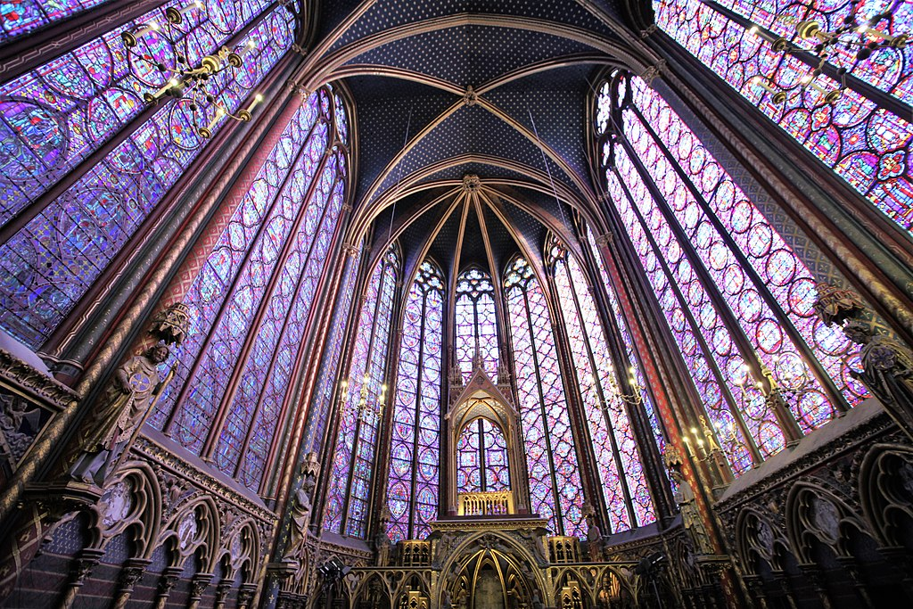 la conciergerie and sainte chapelle See two of the city's most famous landmarks, the stunning sainte-chapelle with its stained glass windows and the conciergerie, a palace turned prison.